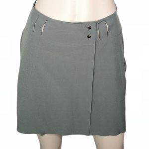 Nike Golf Wrap Style Skirt Dri-Fit Snap Front Mini